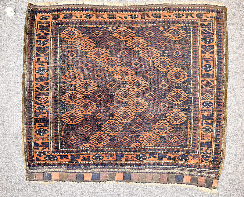 117. Baluch Bag Face, 2ft 6in x 2ft 3in    $86.10