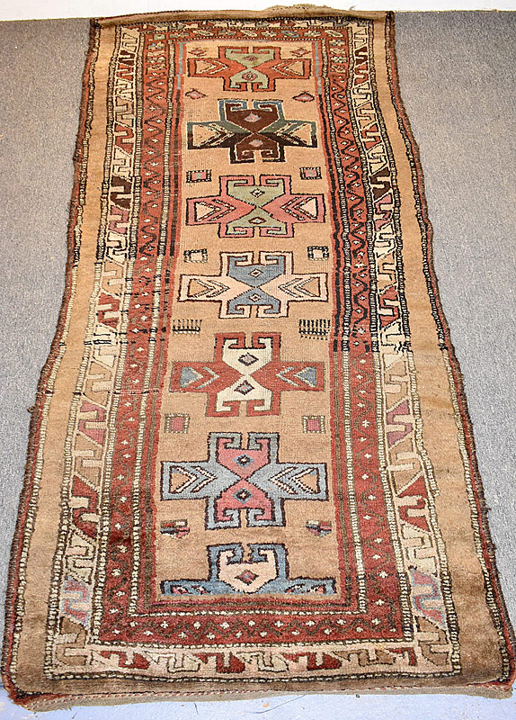 119. Caucasian Area Carpet, 8ft 3in x 3ft 8in |  $215.25
