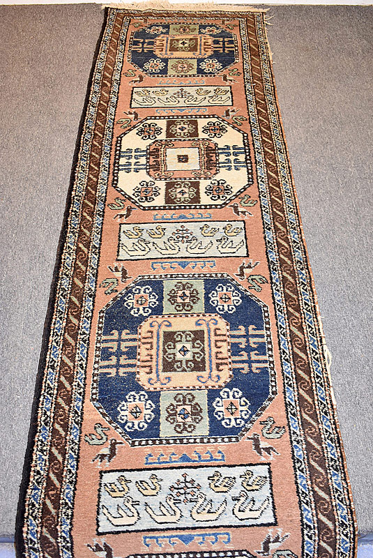 120. Iranian Runner, 12ft 10in x 2ft 5in |  $184.50