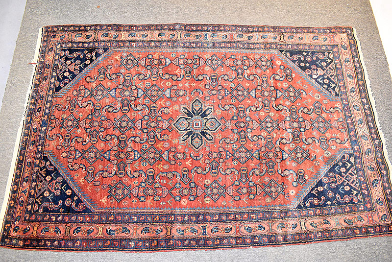 123. Iranian Area Carpet, 6ft 8in x 4ft 5in |  $472