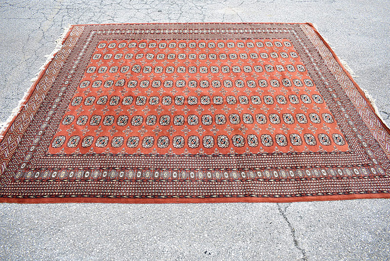 127. Bokhara Room-size Carpet, 8ft 8in x 10ft |  $501.50