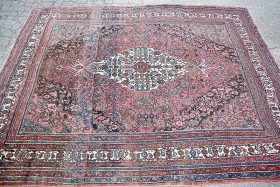 129. Oriental Room-size Carpet, 8ft 3in x 8ft 9in |  $492