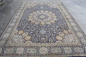130. Iranian Room-size Carpet, 17ft 5in x 11ft 9in |  $922.50
