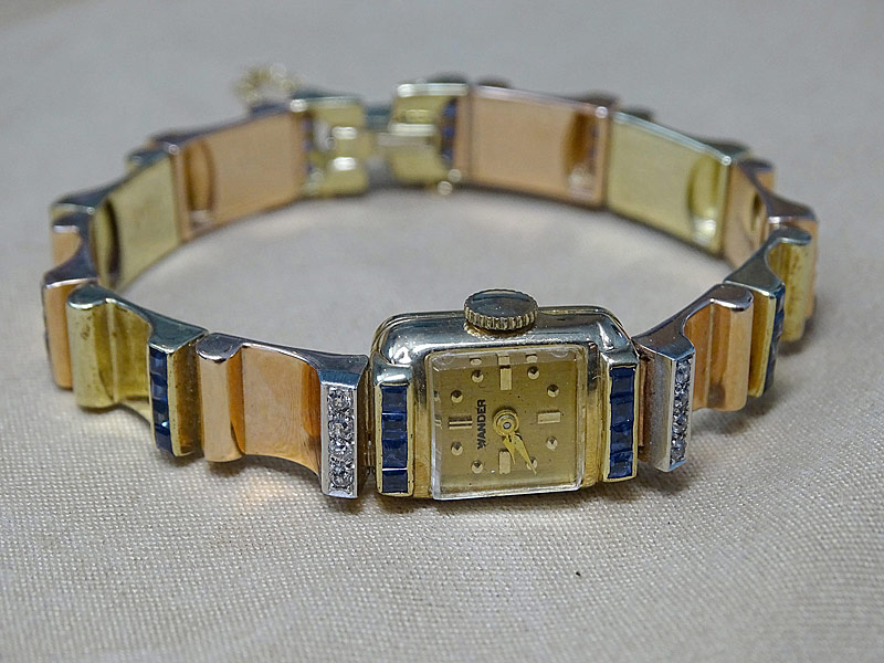 144. Ladies Gold Concord Watch Co. Wristwatch |  $649