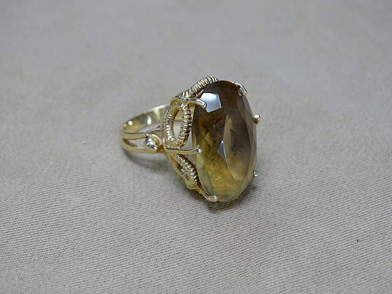 171. Citrine Ring in 14K Yellow Gold |  $215.25