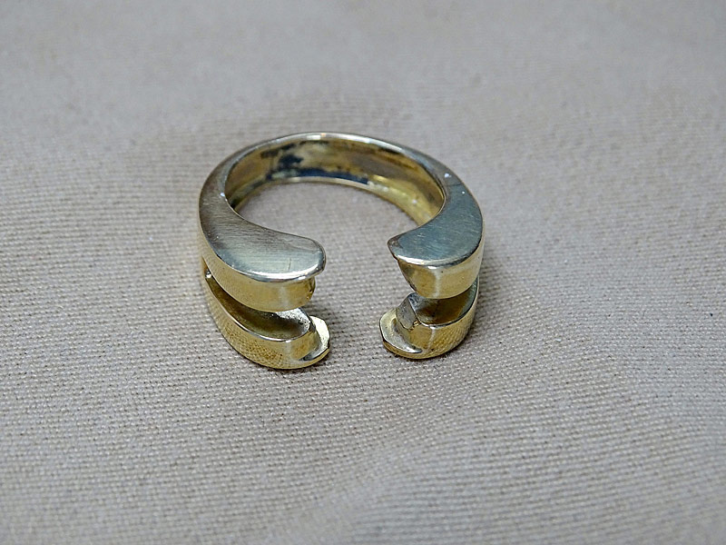 173. 18K Yellow Gold Ring Guard |  $236