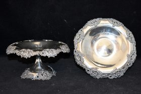 191. Pair of Tiffany & Co. Sterling Silver Tazzas |  $767