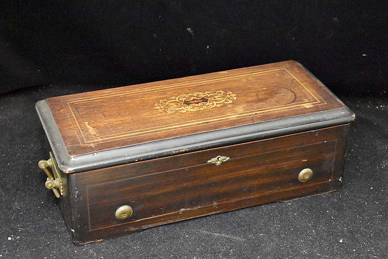199. Swiss Cylinder Music Box with 8-1/4in Cylinder |  $215.25