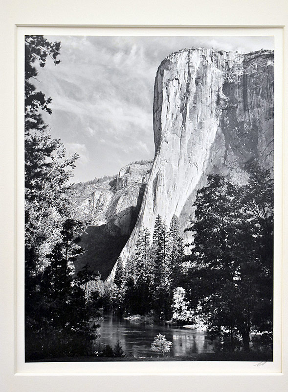 211. Ansel Adams. Silver Gelatin Photo, El Capitan |  $1,230