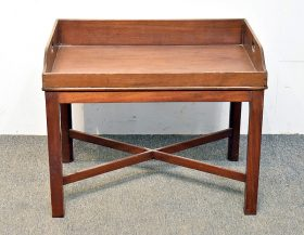 256. 19th C. Butler Tray On Stand |  $70.80