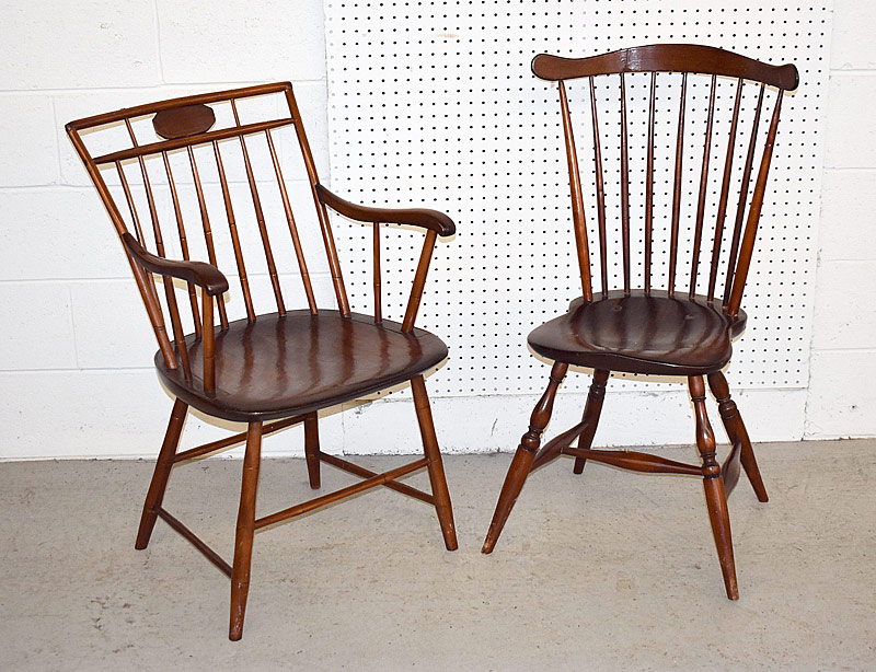 261. Two Windsor Chairs |  $49.20