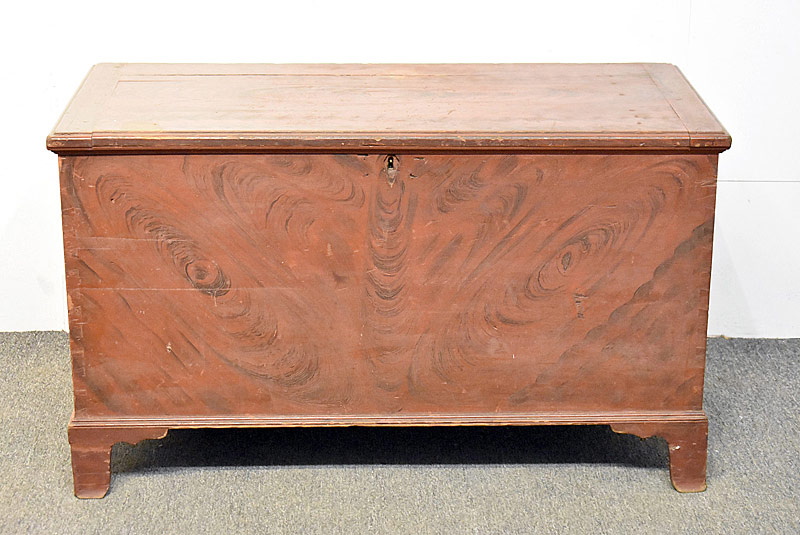 264. Grain-painted Federal Blanket Chest |  $184.50