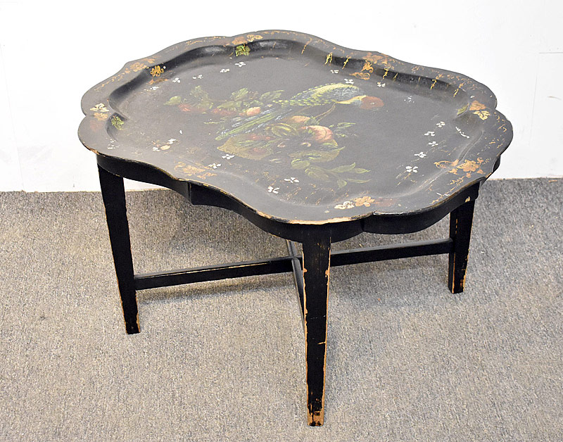 266. Victorian Paper-Mache Tray Table |  $61.50