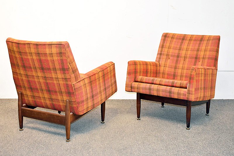 299. Pair of Jens Risom Lounge Chairs |  $1,476