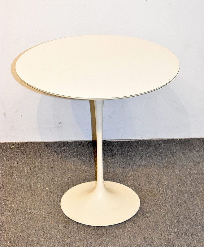 304. Eero Saarinen for Knoll White Tulip Side Table |  $276.75