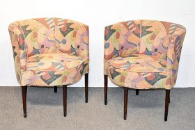307. Pair of Modernist Club Chairs |  $206.50