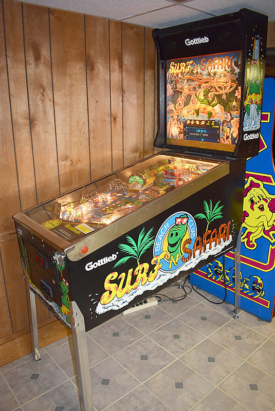 335. Gottlieb Surf-N-Safari Pinball Machine |  $1,845