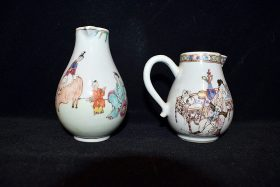 3. Pair of Chinese Porcelain Cream Pitchers    $184.50