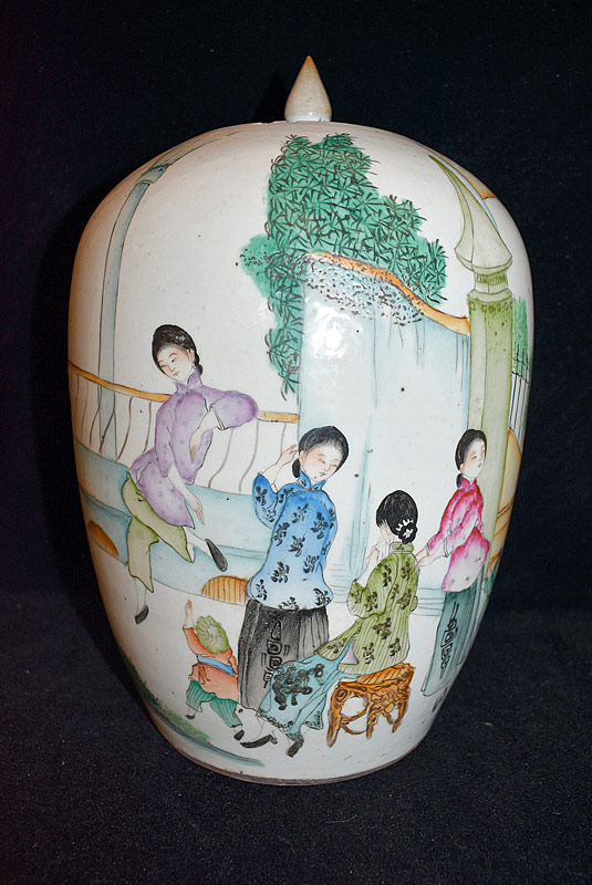 13. Chinese Porcelain Ginger Jar |  $70.80