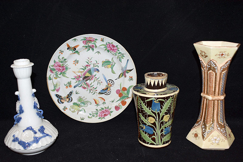 23. Four-piece Asian Porcelain Grouping |  $35.40