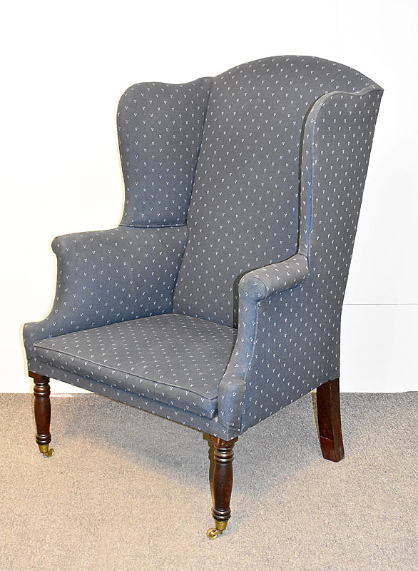 75. Sheraton Chamber Pot Wing Chair |  $123