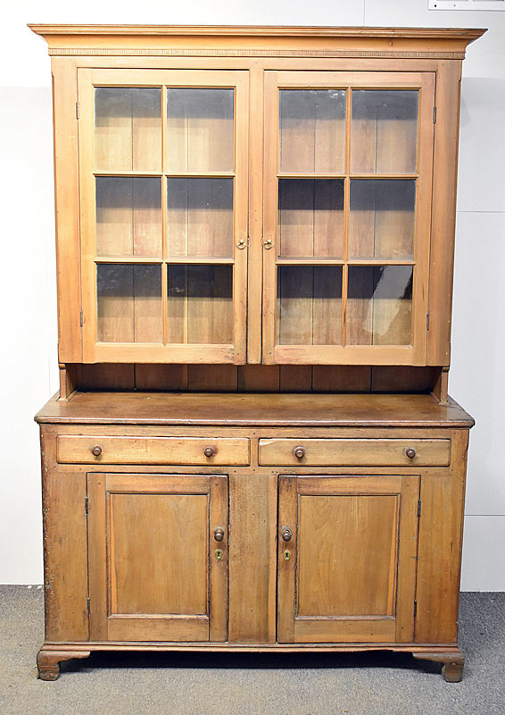99. Pennsylvania Pine Step Back Dutch Cupboard |  $383.50
