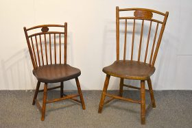 105A. Two Birdcage Windsor Child\'s Chairs    $35.40