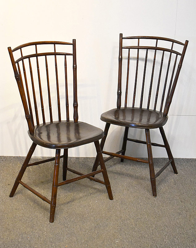 105B. Pair of Windsor Side Chairs |  $59.00