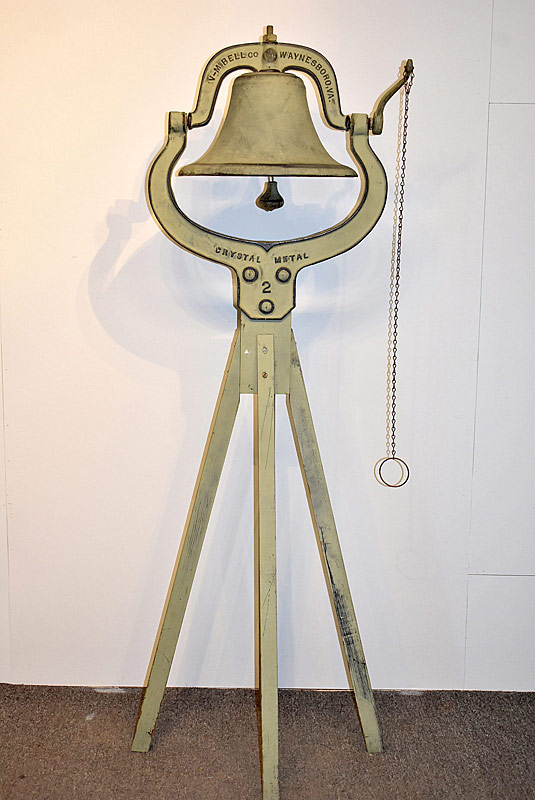 106. Virginina Metalcrafters Farm Bell on Stand |  $276.75