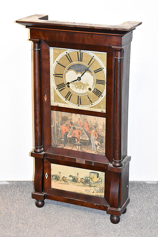 107. Dyer, Wadsworth & Co. Triple Shelf Clock |  $123