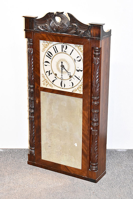 108. Marsh, Gilbert & Co. Shelf Clock |  $73.80