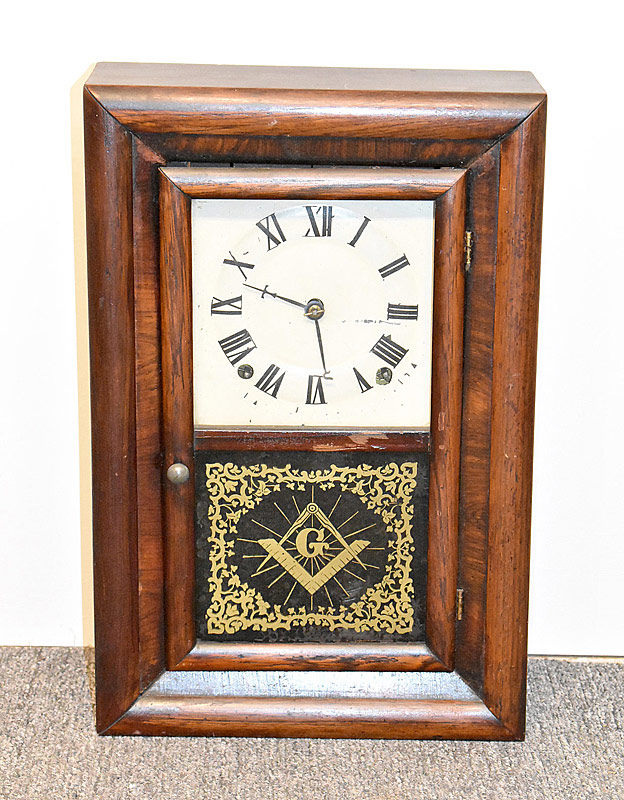 109. Seth Thomas Masonic Shelf Clock |  $184.50