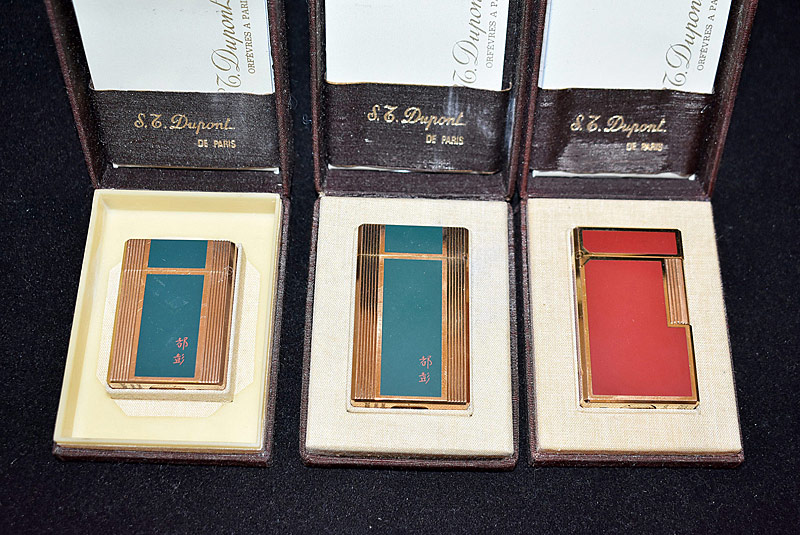129. Three DuPont Lighters |  $590