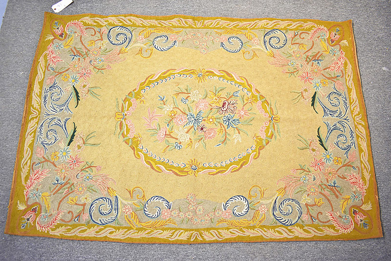 137. Crewelwork Tapestry with Foliate Motifs |  $94.40