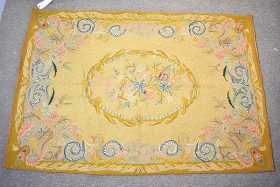 137. Crewelwork Tapestry with Foliate Motifs    $94.40