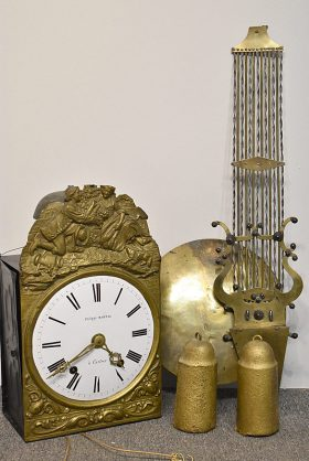 149. French Wag-on-the-Wall Clock    $70.80