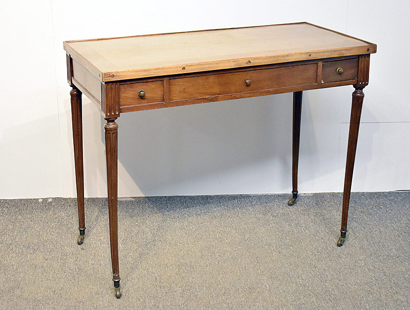 158. Louis XVI Mahogany Tric Trac Game Table |  $369