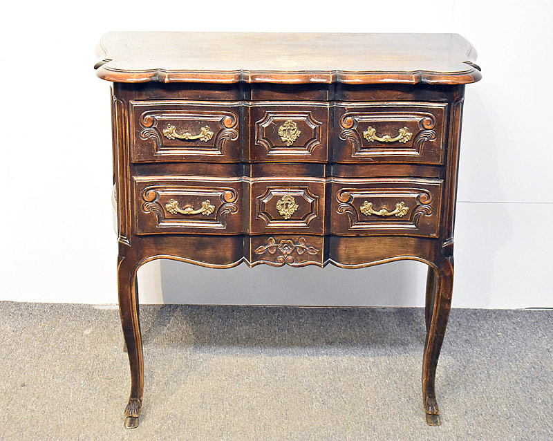159. Louis XV-Style Two-Drawer Commode |  $70.80