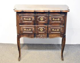 159. Louis XV-Style Two-Drawer Commode    $70.80