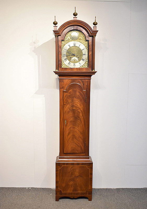 172. Georgian Mahogany Tall Case Clock |  $2,706