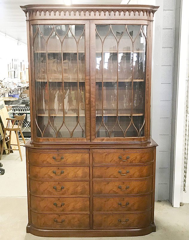175. Beacon Hill Georgian-Style China Cabinet |  $676.50