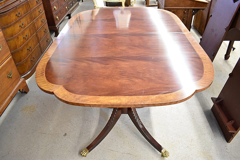 177. Baker Charleston Reproduction Dining Table |  $1,416