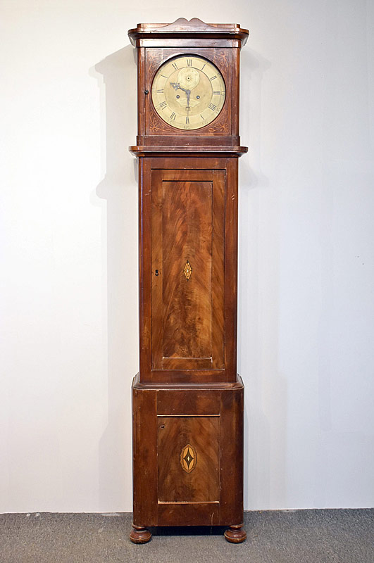185. English Tall Case Clock |  $413