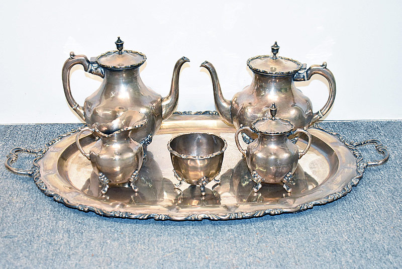 186. A. Torres Vega Mexican Sterling Coffee/Tea Svc. |  $2,360