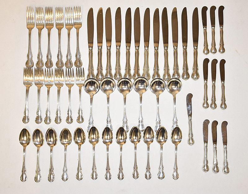 189. 81-pc. Towle Sterling Silver Flatware Service |  $1,003