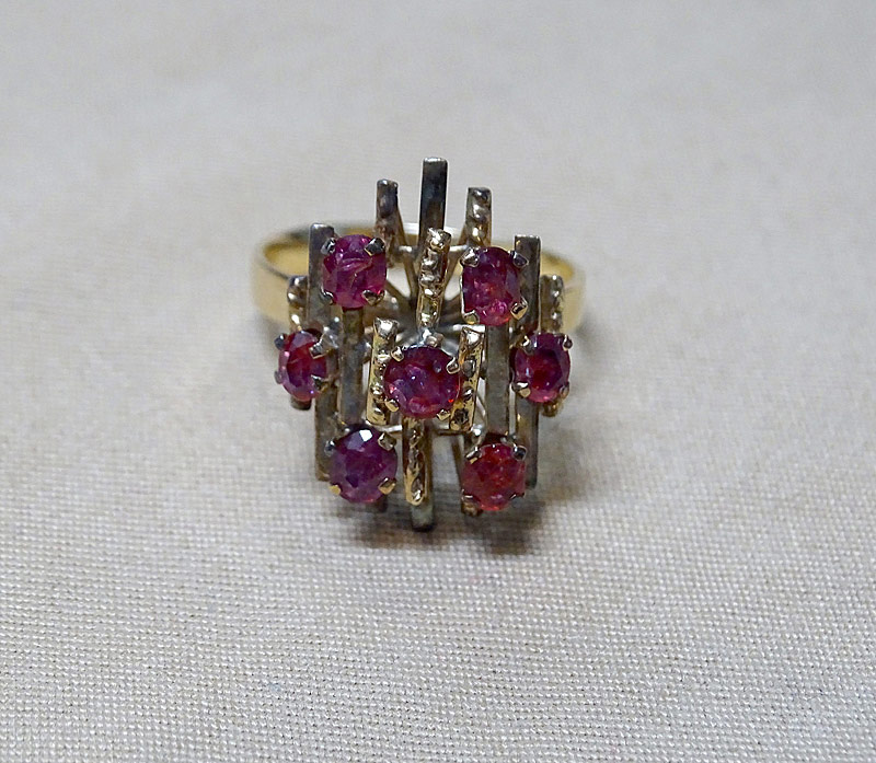 220G. Gold and Ruby Ring |  $246