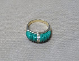 220H. Gold Interchangeable Ring    $147.50