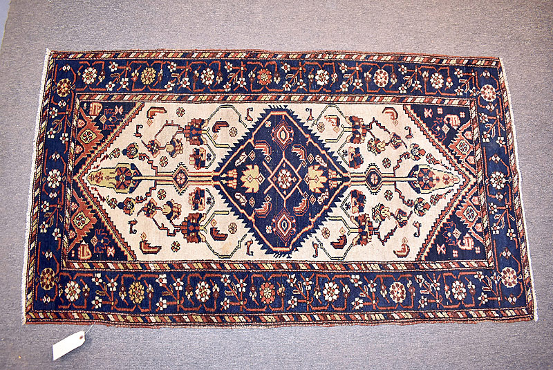 222. Oriental Area Carpet, 6ft 1in x 3ft 5in |  $354