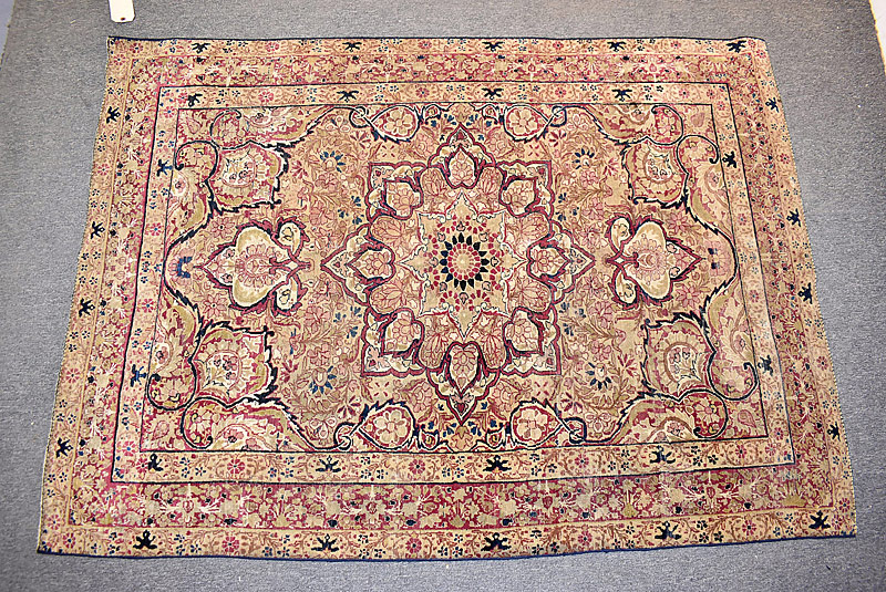 224. Kirman Area Carpet, 5ft 9in x 4ft 3in |  $295