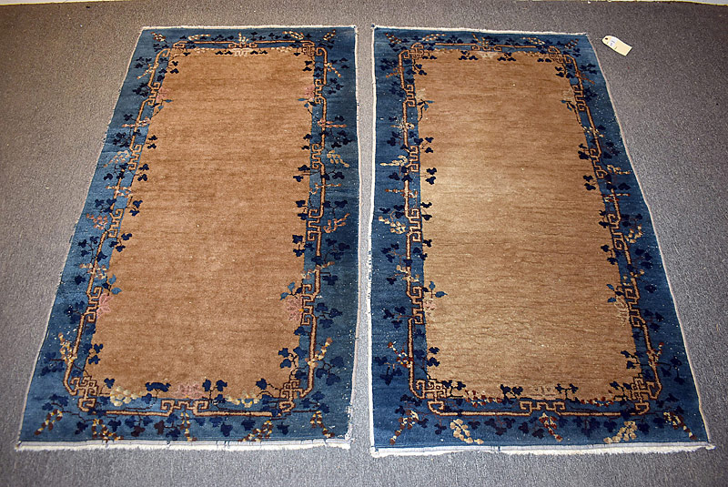 225. Pr. Chinese Deco Area Carpets, 5ft 8in x 3ft 1in |  $153.75